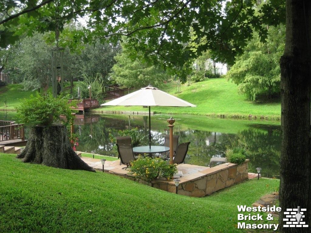 Patios decks and pool areas westside brick masonry for Pool design names